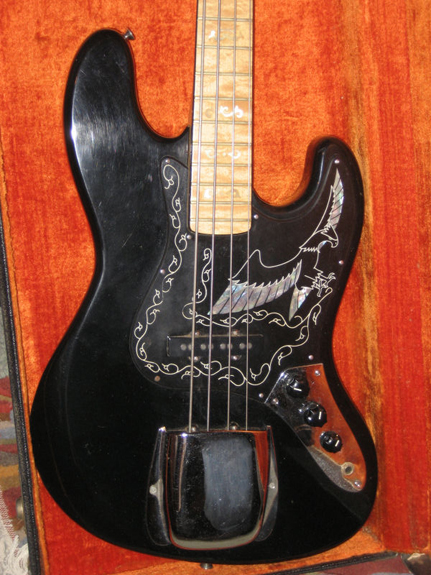 Guitarnerdcomau 1977 Ibanez Black Eagle Bass